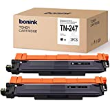[con Chip] BONINK 2 Compatible con Brother TN-247 TN-243 Toner para Brother MFC-L3750CDW MFC-L3770CDW DCP-L3550CDW HL-L3210CW HL-L3230CDW Negro