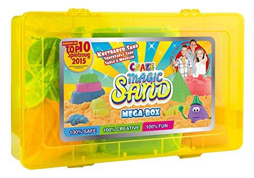 52731 - Mágico Sand - Mega Caja, Aprox. 1000 g sand incluye Accesorio, diversos Versiones, surtido