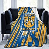 Tigres Uanl Ultra-Soft Micro Travel Fleece Plush Blankets for Home Bed Couch Livingroom