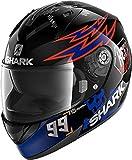 Shark, Casque intégral moto, Catalan Bad Boy, KBO, XL