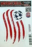 New England Revolution 5' Vinyl Die Cut Decal Sticker Repositionable MLS Soccer Football Club