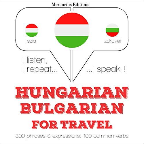 Hungarian – Bulgarian. For travel cover art