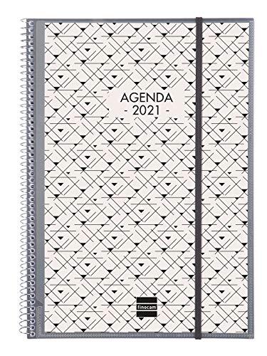 Finocam - Agenda 2021 Semana vista vertical Espiral...