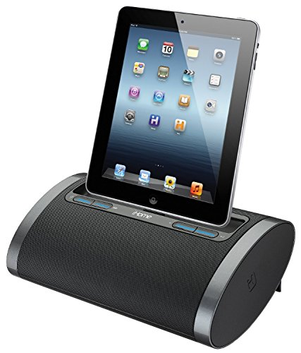 iHome Rechargeable Portable Speaker with Lightning Dock for iPhone 5/5s