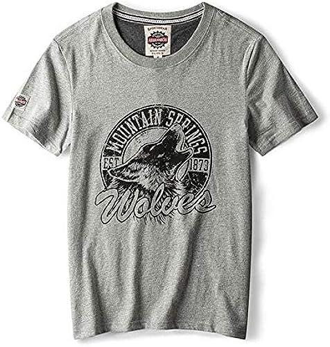 813e43f96fda Cabeza O-Cuello Sólido Color Personalidad Clásico Moda Camisetas ...