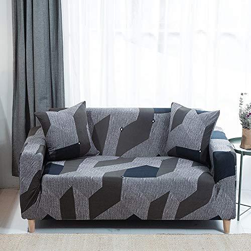 ASCV Fundas elásticas para sofá para Living Roon It Needs Ordene 2 Piezas Funda para Silla de sofá si su sofá es de Esquina seccional Longue en Forma de L A4 4 plazas