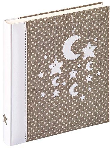 walther design UK-208 Babyalbum Stars und Moon, braun, 28 x 30,5 cm