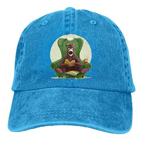 Preisvergleich Produktbild Voxpkrs Trucker Cap Reading of The Bear Durable Baseball Cap