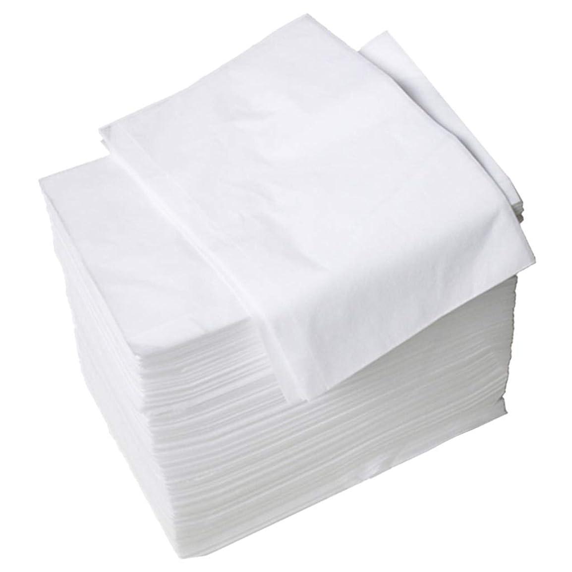 同一の美的運ぶdailymall 約100個セット ベッドカバー マッサージ ベットシート 不織布 使い捨て ホワイト