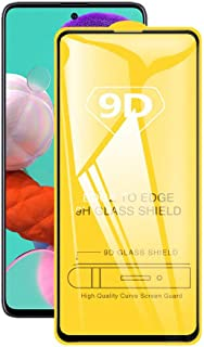 9D Tempered Glass For Samsung Galaxy A71 Full Glue Screen Protector