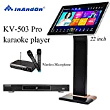 2020 New Type InAndon KV-503 Pro Karaoke Player Intelligent voice keying machine online movie dual...