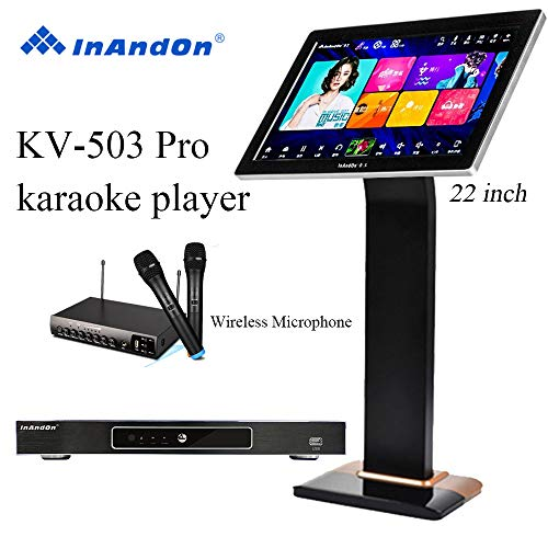 2020 New Type InAndon KV-503 Pro Karaoke Player,With Wireless Mic,22