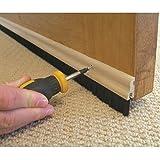 Stormguard - Battiscopa isolante per porte, in vero legno 838 mm...