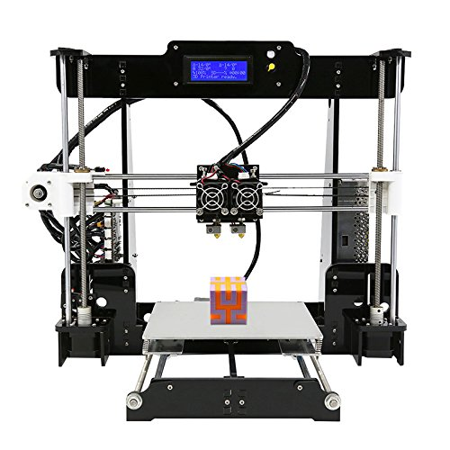 Anet A8 M DIY 3D Printer Kit Dual Nozzles Online & Offline Printing 40-120mm