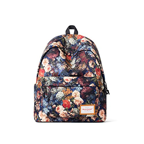 Mr.Ace Homme Fashion Rose Backpack Printing Men's / Women's Computer Bag School Bag