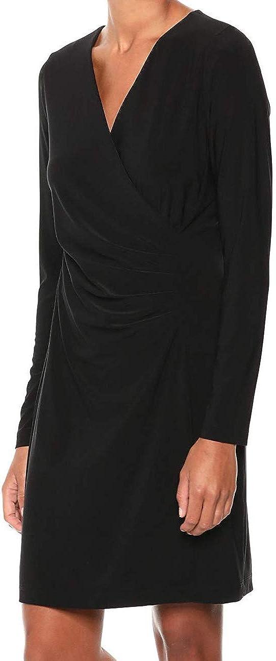 Karen Kane Women's Faux Wrap Dress