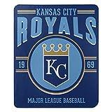 MLB Kansas City Royals 50x60 Fleece Southpaw DesignBlanket, Team Colors, One Size