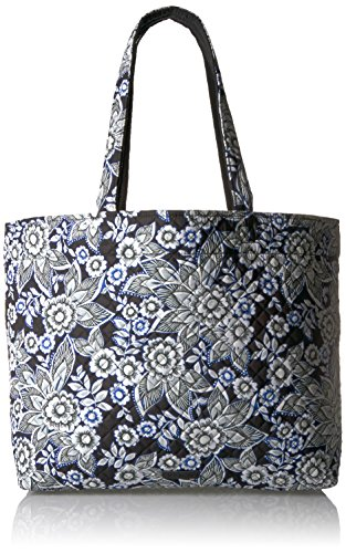 Vera Bradley Women's Signature Cotton Grand Tote Bag, Snow Lotus