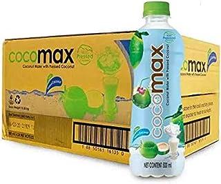 Cocomax Cold Pressed Cocomax Coconut water with Pressed Coconut, 24 x 500ml