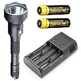 Jetbeam WL-S4-GT Searchlight/Flashlight -CREE XHP70 LED - 3300 Lumens w/Jetbeam I2 Charger & 2x 2300mAh Batteries
