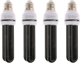 Homyl 4pc Ultraviolet Blacklight UV Light CFL Insect-lured Lamp Low Energy 15W