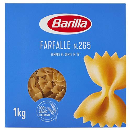 Barilla Pasta Farfalle, Pasta Corta di Semola di Grano Duro, I Classici - 1 kg