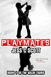 book cover art for Playmates by Jess C Scott