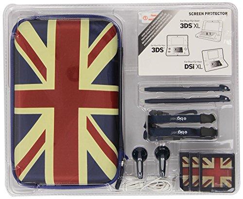 Bigben 130114 Accessoirepakket Engelse Vlag, Blauw (Nintendo Ds)