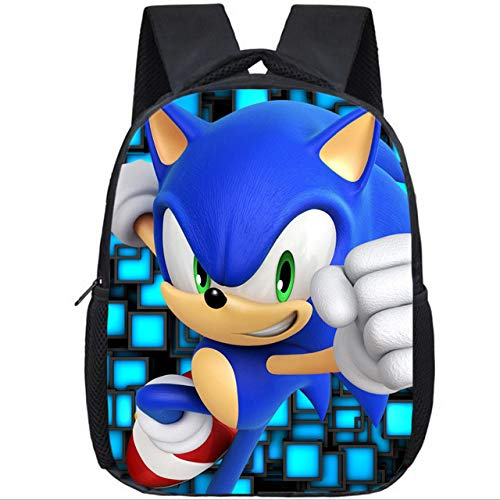 XINXIANG Super Mario shchool Bags Soft Nap Super Mario Mochila Baby Toddle Kids Bag Baby Boy Girl Niños Cute Cartoon Character Monster Kids Small School Bag