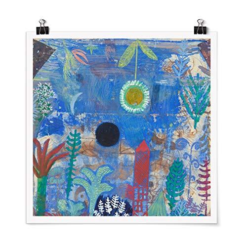 Bilderwelten Poster Galerieprint Paul Klee Versunkene Landschaft Quadrat Glänzend 70 x 70cm