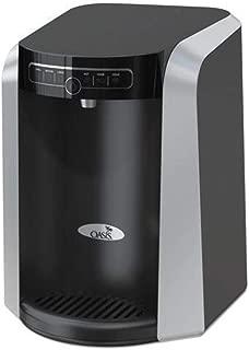 Oasis 506336C Aquarius Counter Top Hot N Cold Water Cooler, 13 1/4 dia. x 17 h, Black