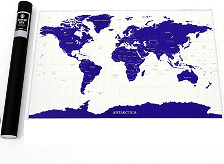 FYrainbow Luxus-Kratzer von von von der Karte, Small World Scratch Karte detaillierte Scratch World Karte Nachtlicht-Edition B07PDXRYXD   Glücklicher Startpunkt  6bb1a8