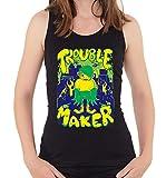 Photo de Little Kid Monster Trouble Maker T-Shirt débardeur Femme X-Large