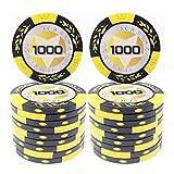 COSDDI 20 Piezas Fichas de Póker Casino Club Fichas de Póker a Granel - Elija...