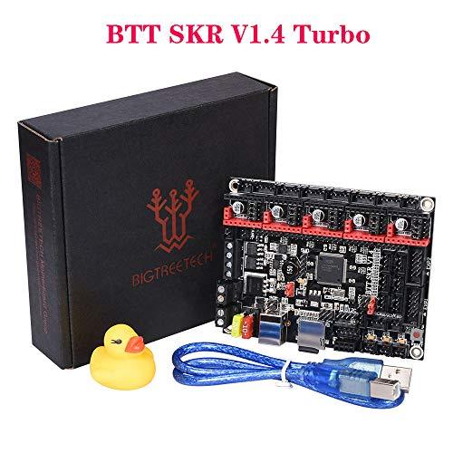 PoPprint BIGTREETECH SKR V1.4 Turbo 32 Bit Steuerkarte mit 120 MHz ARM Level Control Chip Unterstützung ESP-01S WIFI Modus für DIY 3D Drucker