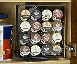 Nifty Solutions 32 K-Cup Cabinet Swivel Rack Storage System for Keurig Drinks ;JM#54574-4565467/341117284