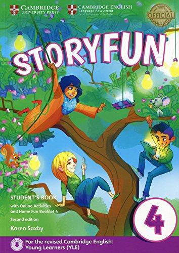 Storyfun for movers. Level 4. Student's book-Home fun booklet. Per la Scuola media, Con espansione online