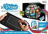 Tableta de juego uDraw con uDraw Studio: Instant Artist - Negro - Nintendo Wii