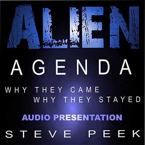 Alien Agenda audiobook cover art
