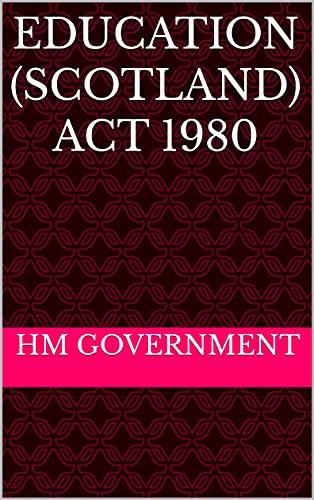 Education (Scotland) Act 1980 (English Edition)