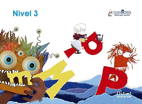 Cocinero y Tableta 4 años. Cuadernos 3 (Cocinero y Tableta, qué Gran Receta) - 9788467395266