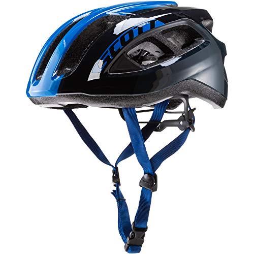 SCOTT 275217, Casco Bici Unisex Adulto, nightfal Blu, 1size