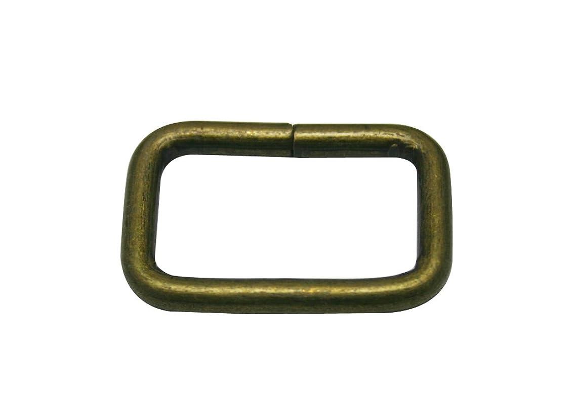 Generic Metal Bronze Rectangle Buckle 1