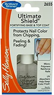 Sally Hansen Ultimate Shield Base & Top Coat 0.45 Ounce (13ml) (6 Pack)