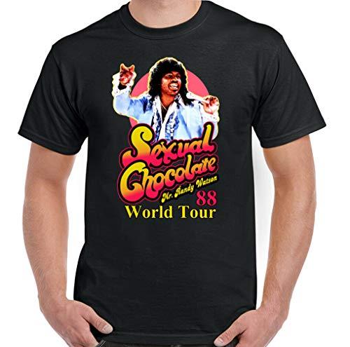 Doapee Sexual Chocolate T-Shirt Mens Coming to America Randy Watson World Tour 88 Top