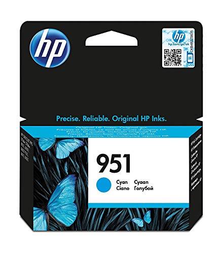 HP CN050AE - Cartucho de tinta original, cyan