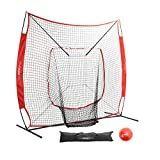 Pinty Baseball and Softball Practice Net 7×7ft...