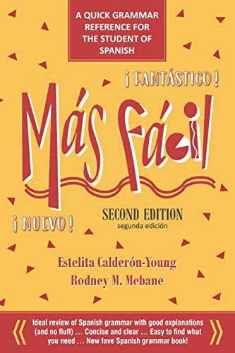 M s F cil A Quick Grammar Reference for the Student of Spanish product image