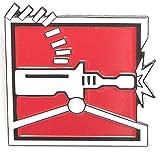 Rainbow Six Siege Tachanka Enamel Pin - 6 Collection - Tachanka Operator Icon - Lapel Pin