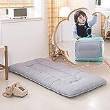 YOSHOOT Portable Toddler Travel Bed, Kids Memory Foam Floor Mattress...